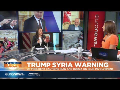 Trump Syria Warning: US President cautions Iran and Russia on Idlib involvement