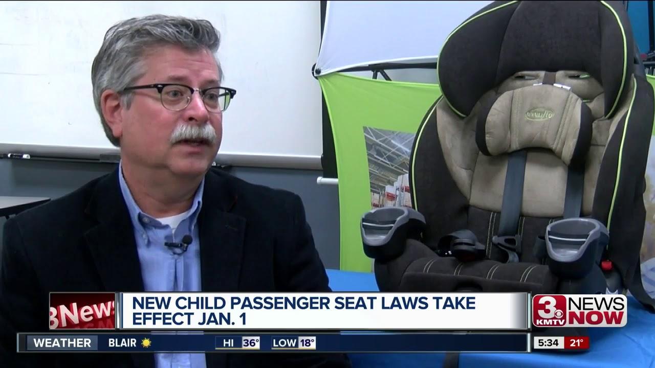 new car seat laws begin jan. 1 - youtube