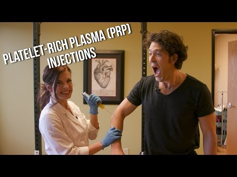PRP for Elbow Pain & Bicep Tear w/ Dr.  Tyna Moore