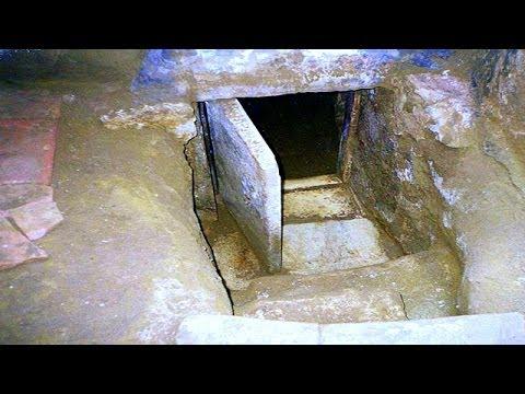 Tünel İle Ulaşılan Mezar Odası