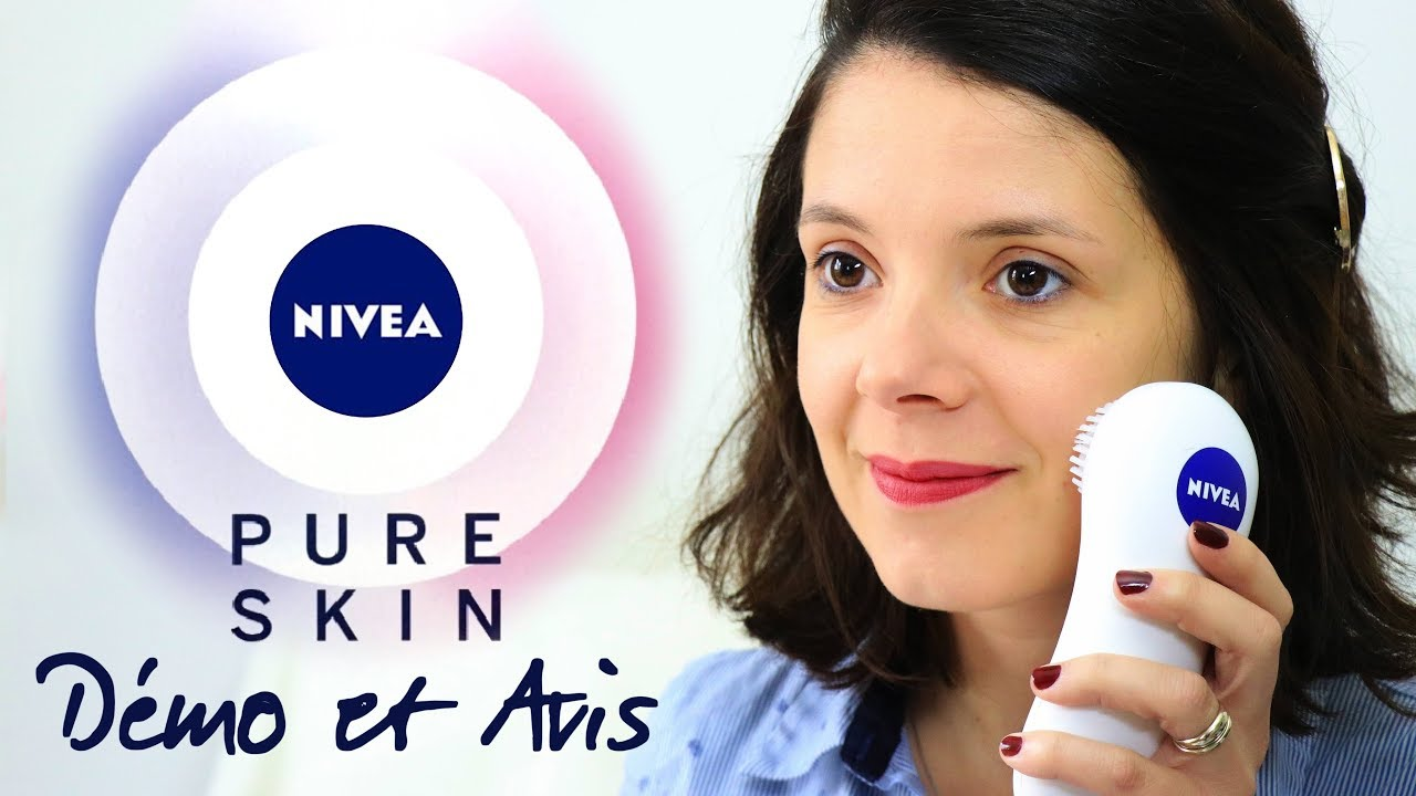 test et avis la brosse pure skin nivea youtube. Black Bedroom Furniture Sets. Home Design Ideas