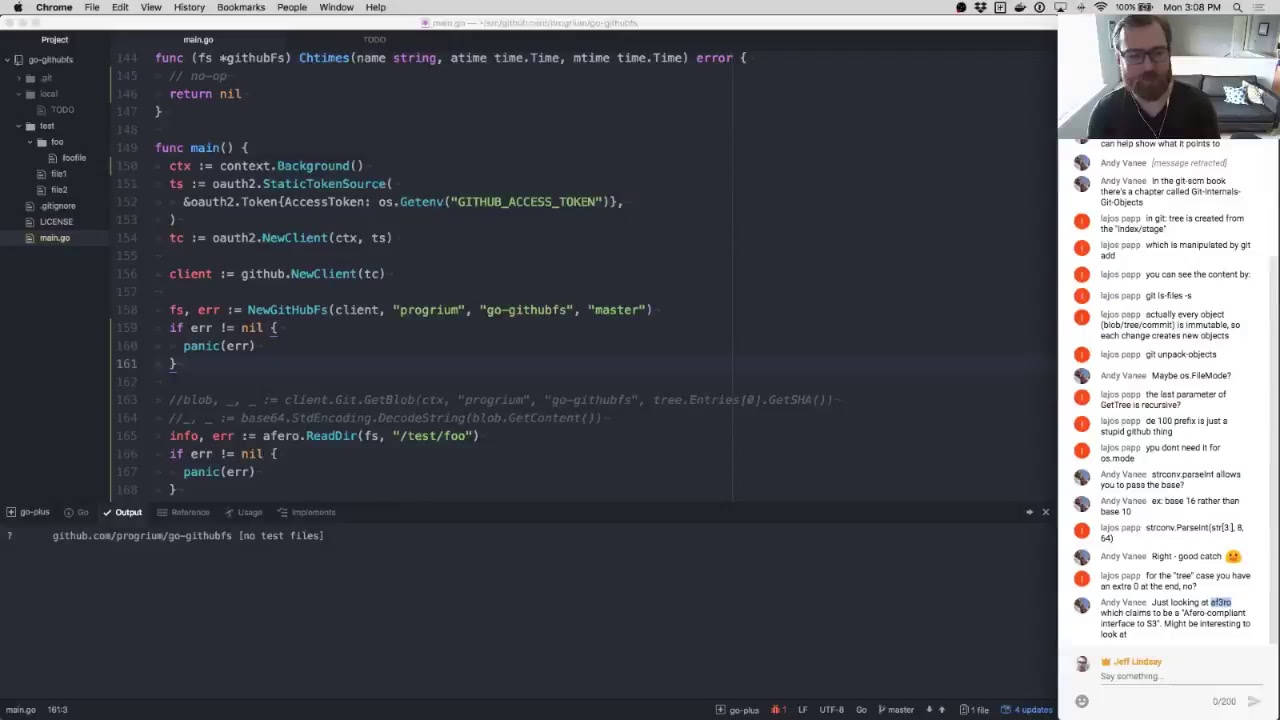 Building a GitHub