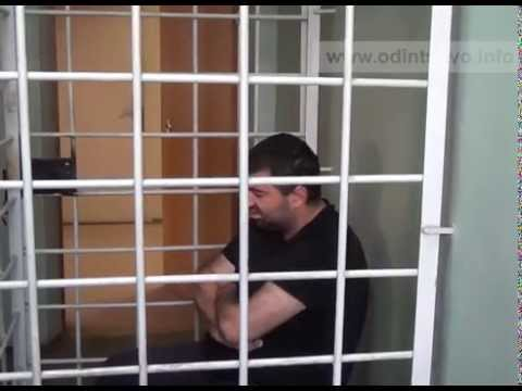 Трое армян украли строительный кран в Одинцово