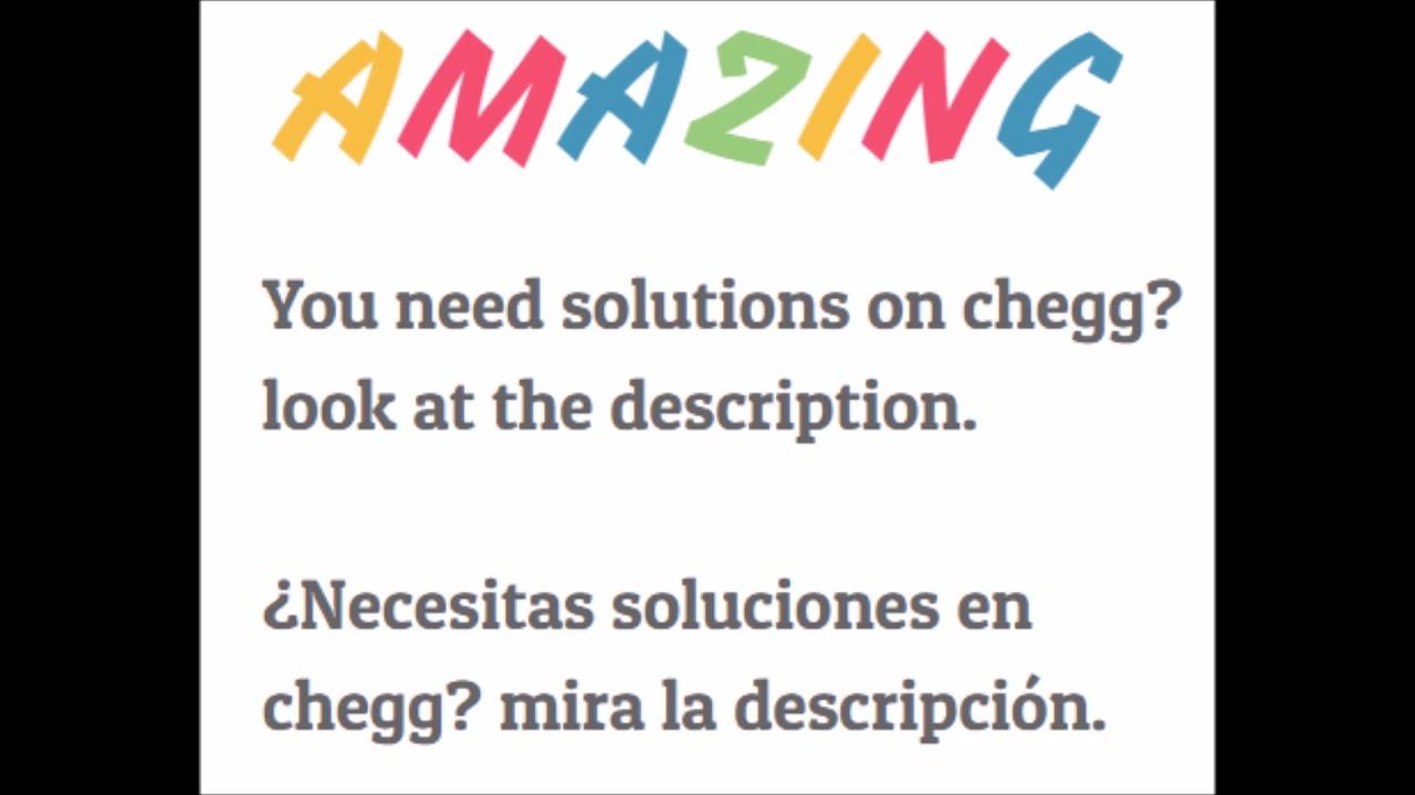 Chegg study free 2018 / chegg study gratis 2018 by Manuel Fajardo