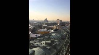 Moscou vue du toit du Ritz-Carlton...