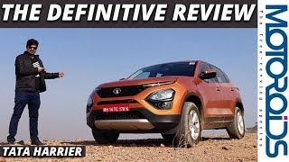 Tata Harrier | The Definitive Review | Has the Bar Really Been Raised? | Motoroids