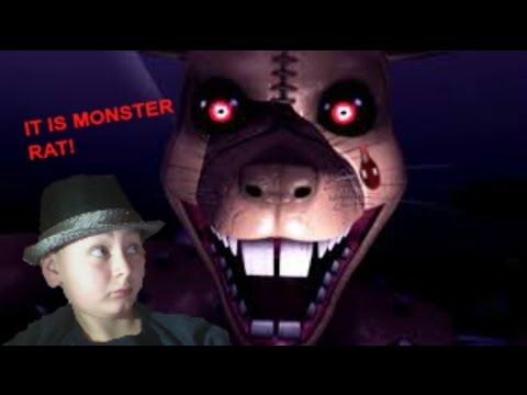 A LITTLE GIRL WHO GETS TORTURED BY A GIANT RAT! // Five Nights at Candy's 3 #1