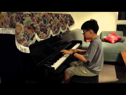 Amazing 12 yrs boy (PianoMinion) plays Crossing Field Piano-Sword Art Online OP1 - LISA