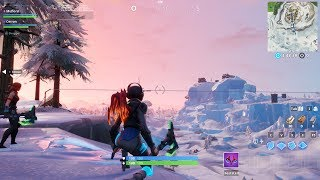 Fortnite Polar Peak Monster bricht aus