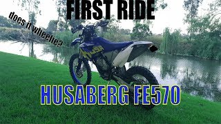 First Ride: Husaberg FE570