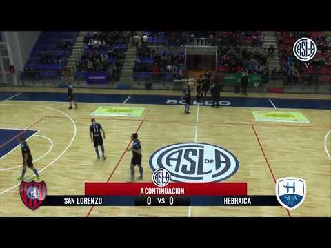 FUTSAL AFA - Fecha 19 (postergado) - San Lorenzo vs. Hebraica