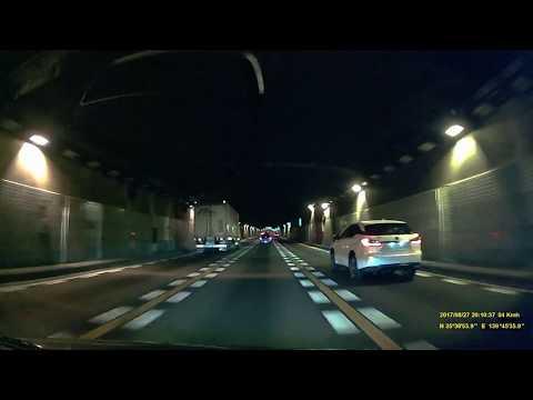 Night drive through Tokyo