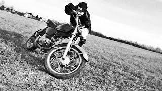 Как научиться водить мотоцикл (на примере мопеда Альфа)