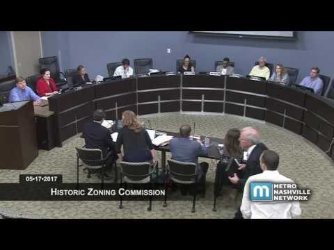 05/17/2017 Historic Zoning Commission
