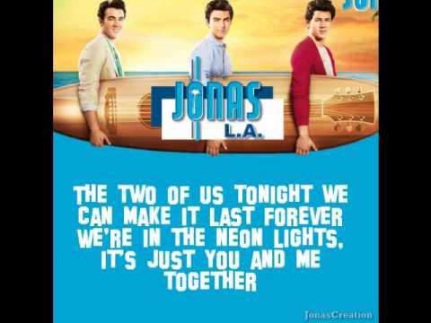 Jonas Brothers  LA Ba with lyrics