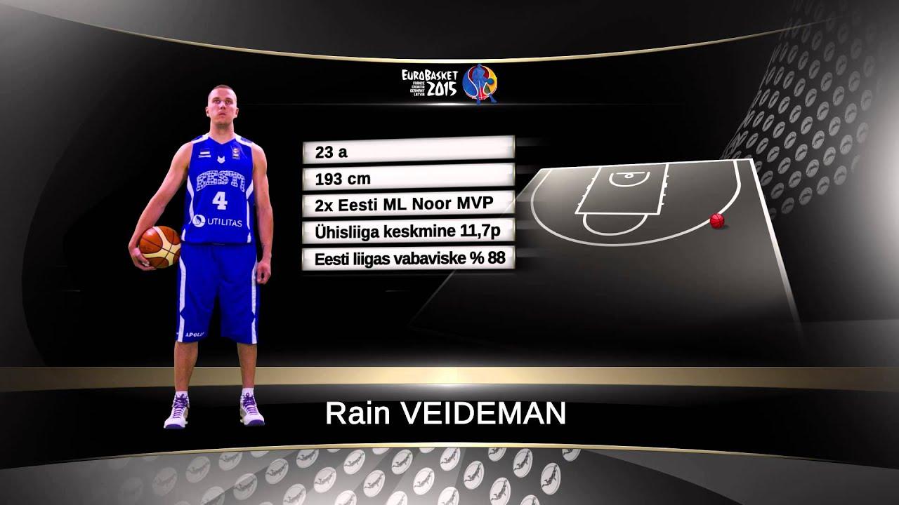 EuroBasket 2015 Rain Veideman - Viasat Sport Baltic
