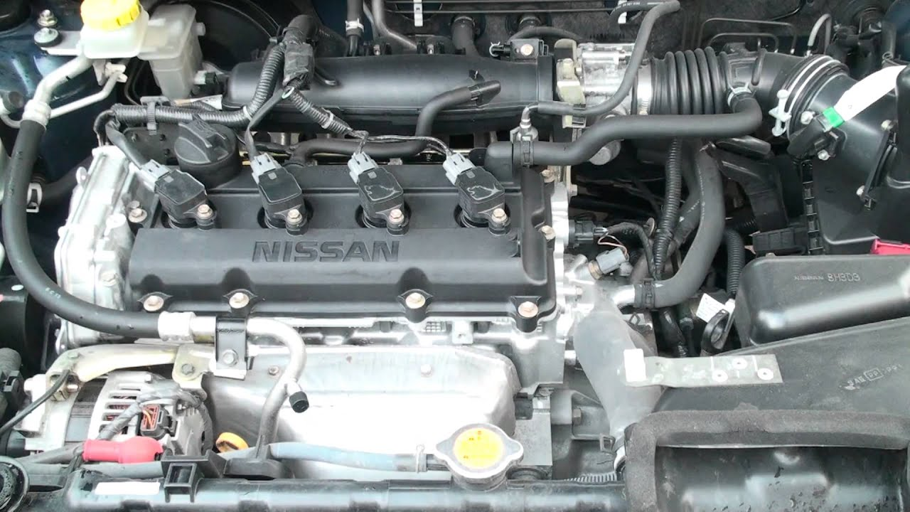 【hd】 Nissan Qr20de Youtube