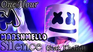 Video Marshmello - Silence (feat. Khalid) (One Hour LOOP) download MP3, 3GP, MP4, WEBM, AVI, FLV Januari 2018