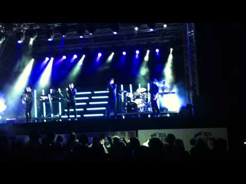 The Wanted - Doncaster Races - Heart Vacancy
