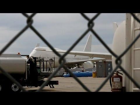 SPIED!! THE NEXT AIR FORCE ONES IN STORAGE!!! (Ex-Transaero Boeing 747-8i's)
