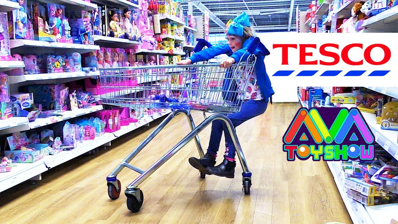 Tesco Nottingham Toys In Tescos Extra Youtube
