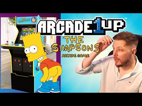ARCADE 1UP DOES THE SIMPSONS! from SATSUI