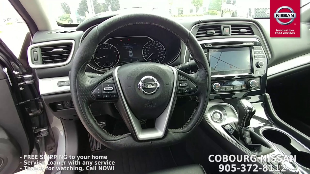 2017 Nissan Maxima Sl Review At Cobourg