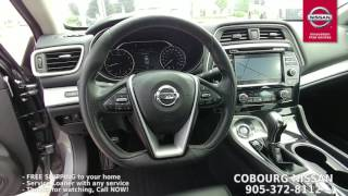 2017 Nissan Maxima SL Review at Cobourg Nissan
