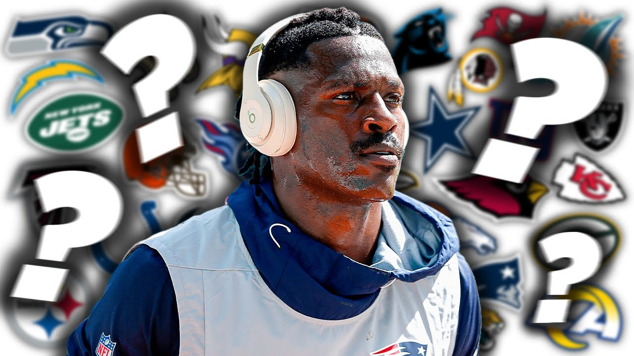 Should the Seahawks roll the dice on Antonio Brown?
