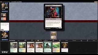 MTG Modern Magic Melira Combo Collected Company Match 1