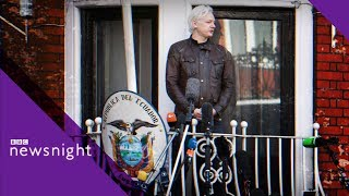 Is time up for Julian Assange? - BBC Newsnight