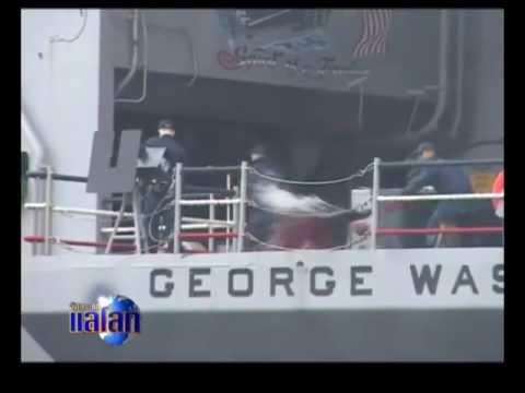 สหรัฐฯโชว์ศักยภาพเรือรบกระทบจีน
