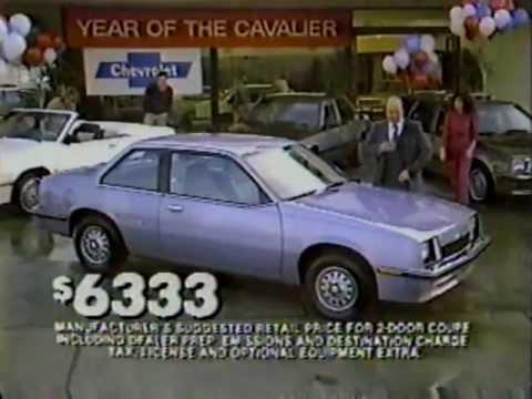 1983 chevy cavalier