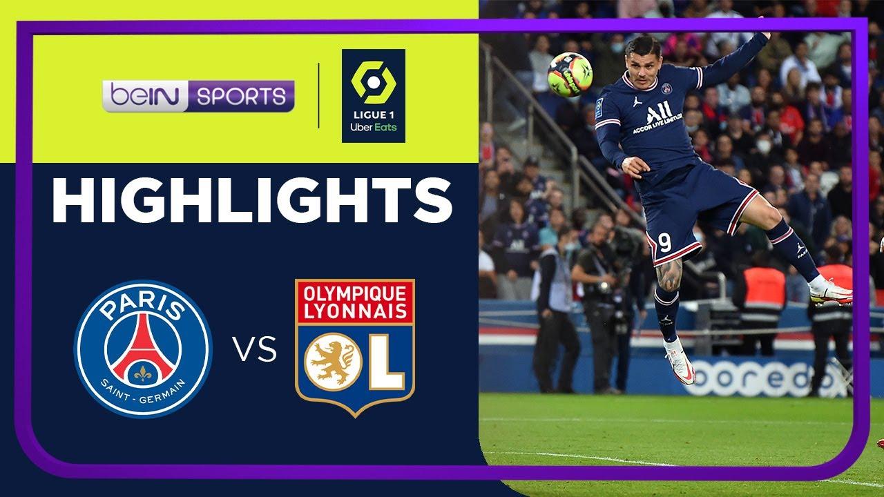 PSG 2-1 Lyon | Ligue 1 21/22 Match Highlights