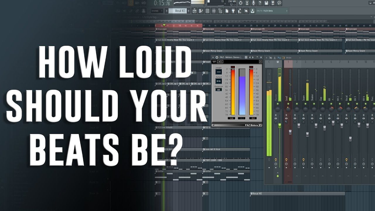 Download HOW LOUD SHOULD YOUR BEATS BE?