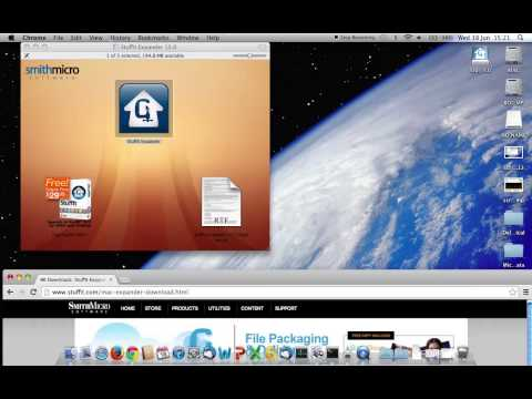 Opening GZ files using stuffit expander software