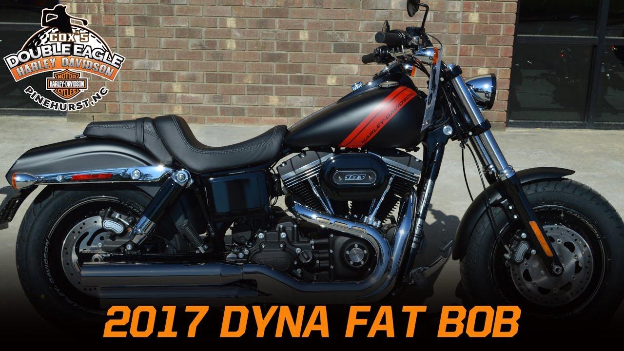 2017 Harley Davidson Dyna Fat Bob Fxdf Black Denim