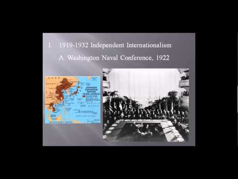 Interwar U.S. Foreign Relations, Part 1