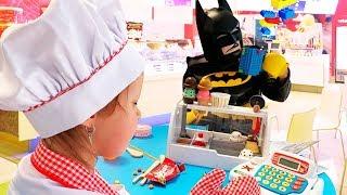 ПРОДАВЕЦ МОРОЖЕНОГО! Игровой набор Ice Cream! Мороженое Гигант и Лего Мороженое для Бэтмена!