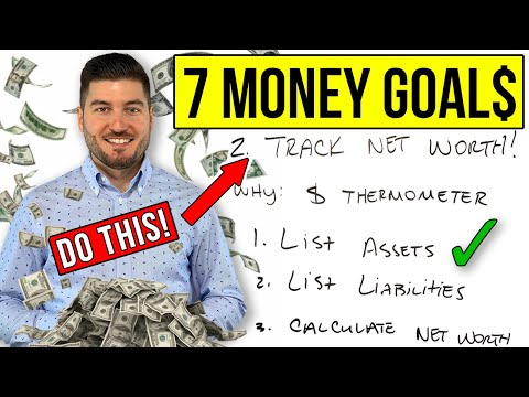 7 Simple Financial Goals For 2021