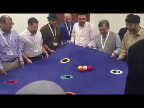 The magical carpet game team building ahmed magdy - Team building swimming pool games ...