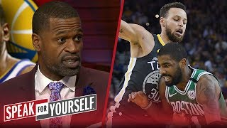 Stephen Jackson on Celtics being the Warriors biggest threat | NBA | SPEAK FOR YOURSELF