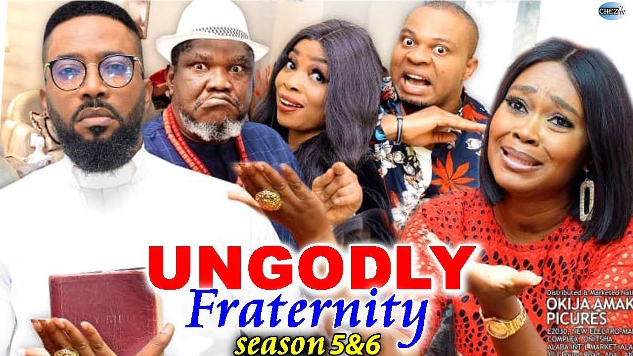 Download UNGODLY FRATERNITIES (SEASON 5&6) Trending New Movie Fredrick Leonard 2021 Latest Nigerian Movie