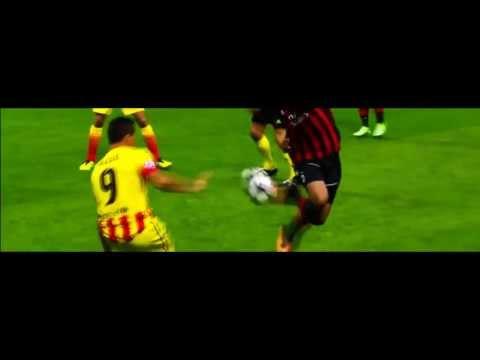 Robinho de Souza amazing Fint HD Milan vs FC Barcelona UEFA Champions League 22 10 2013) HD