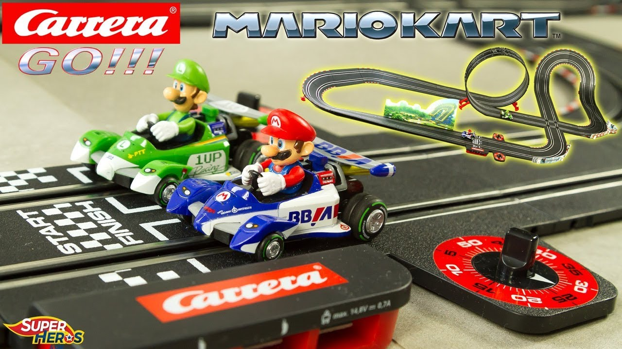 Luigi Mariokart Go Circuit Toy Voitures Jouet Mario Kart Carrera KlTF1Jc