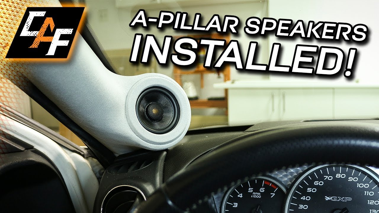 Custom A Pillar Speakers - How to Install, Wire, Sound ...
