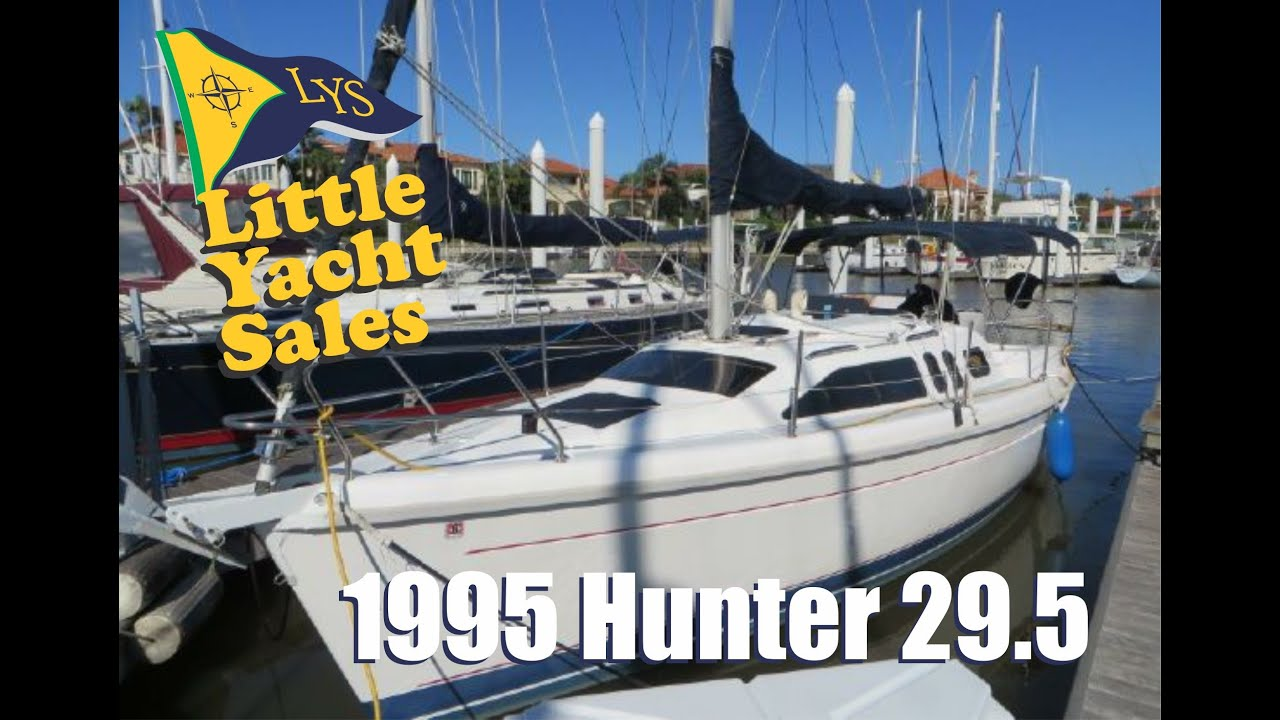 Sold 1995 Hunter 29 5 Sailboat For Sale At Little Yacht Sales