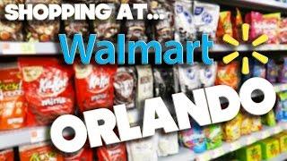 SHOPPING AT - WALMART - ORLANDO