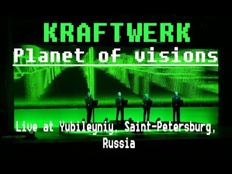 Kraftwerk - 16. Planet of visions (Live at Yubileyniy, Saint-Petersburg, Russia)