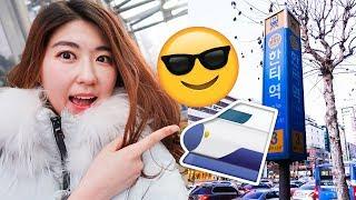 Real Life Korean Subway! (+ Learn Korean, Tips)! | 한국언니 Korean Unnie